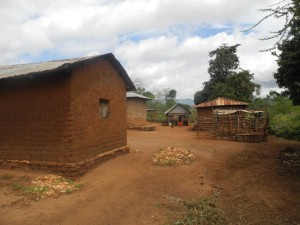 The Water Project : kenya4299-11-first-members-houses