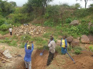 The Water Project : kenya4300-10-kyalimba-dam-in-progress
