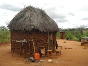 The Water Project : kenya4301-01-first-members-kitchen-and-utensil-stand