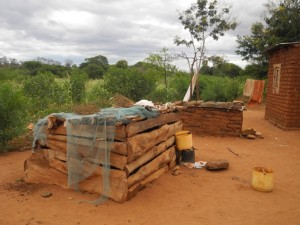 The Water Project : kenya4301-02-first-members-chicken-house