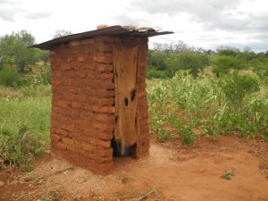 The Water Project : kenya4301-09-first-members-latrine