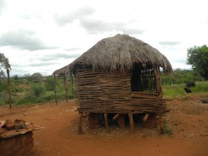 The Water Project : kenya4301-17-second-members-barn
