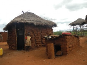 The Water Project : kenya4301-19-second-members-grandmother-and-daughter-in-the-kitchen-2