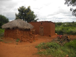 The Water Project : kenya4301-32-the-houses-in-second-members-homestead