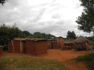 The Water Project : kenya4301-33-the-houses-in-second-members-homestead