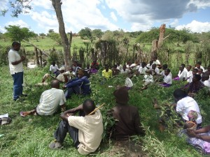 The Water Project : uganda6045-08-kitabo-central-cw-at-dedication-preaching-2