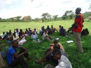 The Water Project : uganda6046-03-kacwangobe-ce-action-planning-meeting-2