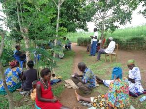 The Water Project : uganda6046-04-kacwangobe-hp-post-verification-meeting-2