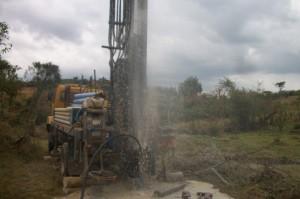 The Water Project : uganda6046-08-kacwangobe-drilling-2