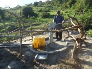 The Water Project : uganda6046-13-bh-caretaker-mr-kabaragara-geofrey-2