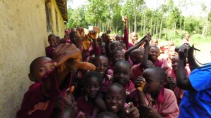 The Water Project : kenya4292-19-students-who-want-thier-pic-taken