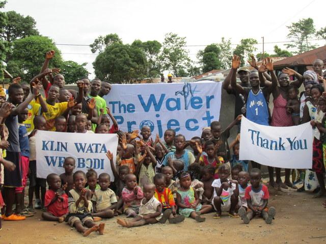 Photo of Lungi Community 2014 Well Rehabilitation