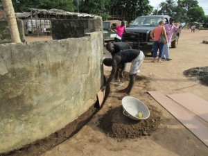 The Water Project : sierraleone5053-11-pip-reinforcing-wall