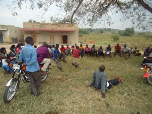 The Water Project : uganda6053-06-akayanja-action-planing-meeting