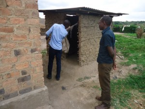 The Water Project : uganda6053-13-joint-sanitation-inspection