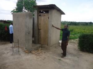 The Water Project : uganda6053-14-new-latrine
