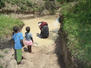 The Water Project : uganda6054-01-previous-water-source