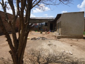 The Water Project : uganda6054-07-a-new-clothes-line