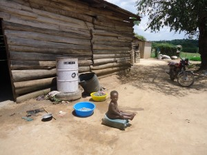The Water Project : uganda6054-08-household-hygiene-still-wanting