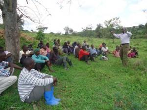 The Water Project : uganda6054-10-hp-comunity-sensitization