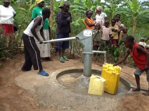 The Water Project : rwanda3082-08-pump-in-use