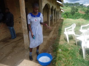 The Water Project : uganda6055-07-classroom-cleaning