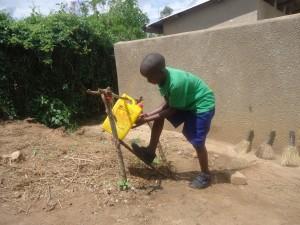 The Water Project : uganda6055-10-hand-washing-facility