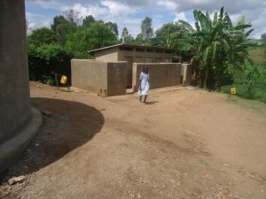 The Water Project : uganda6055-26-new-school-latrines