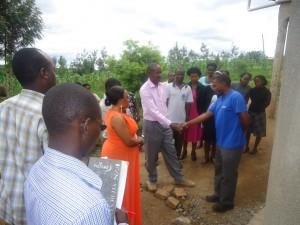 The Water Project : uganda6055-32-tank-handover