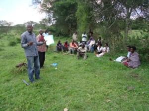 The Water Project : uganda6056-05-community-sensitization
