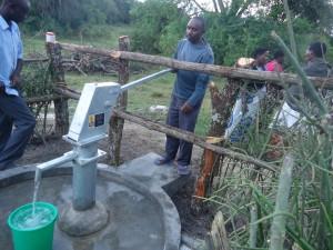 The Water Project : uganda6057-15-caretaker