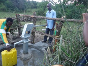 The Water Project : uganda6057-59-interviewed-person