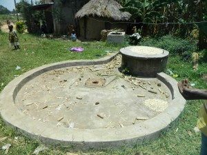 The Water Project : kenya4264-05-lutaso-market-well-pad-area