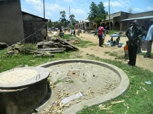 The Water Project : kenya4264-06-lutaso-market-well-pad-area