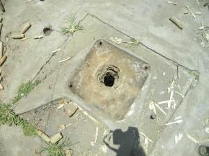 The Water Project : kenya4264-09-lutaso-market-well-pad-area