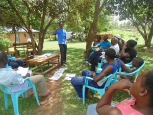 The Water Project : kenya4264-10-bwp-facilitating-on-good-and-bad-hygiene-practice