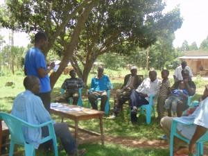 The Water Project : kenya4264-12-bwp-staff-facilitating-the-seasonal-calender