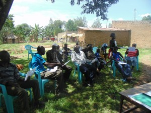 The Water Project : kenya4264-13-good-and-bad-hygiene-behaviours-discussion