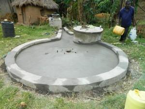 The Water Project : kenya4264-21-lutaso-market-pad-construction