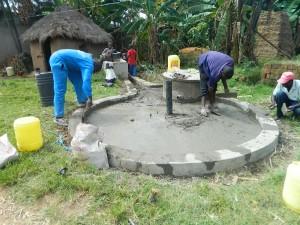 The Water Project : kenya4264-23-lutaso-market-pad-construction
