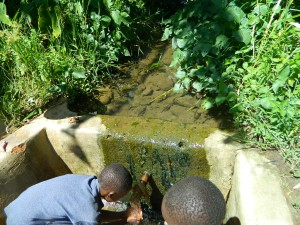 The Water Project : kenya4281-06-imulama-dispensary-current-water-source