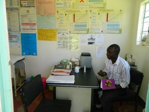 The Water Project : kenya4281-11-imulama-dispensary-treatment-room