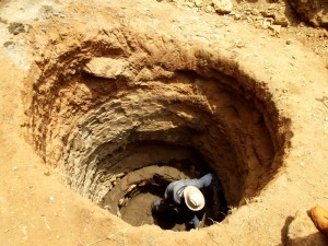 The Water Project : kenya4307-shallow-well-03