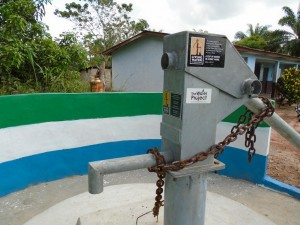 The Water Project : sierraleone5054-04-plague-on-pump