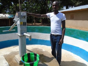 The Water Project : sierraleone5055-07-person-interviewed