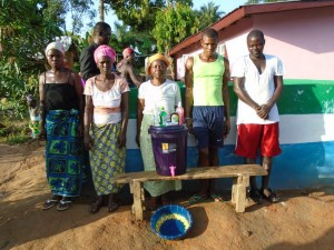 The Water Project : sierraleone5056-03-handwashing-materials