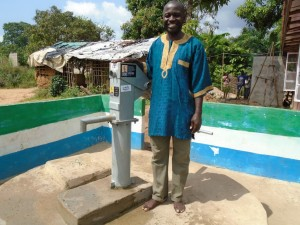 The Water Project : sierraleone5056-04-person-interviewed
