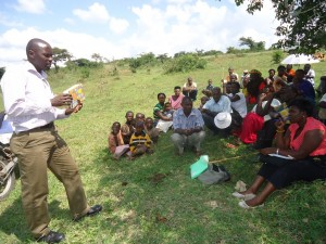 The Water Project : uganda6058-12-sanitation-sensitization