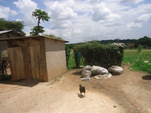 The Water Project : uganda6058-19-household-waste-managed-better