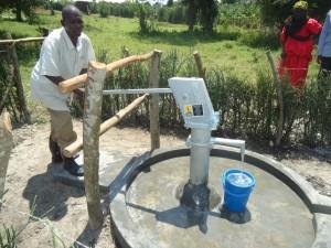 The Water Project : uganda6058-28-caretaker